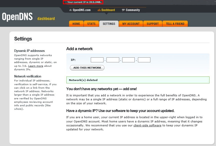 how to disable opendns parental controls
